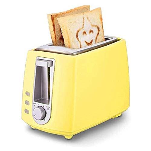 JINFAN Toast Maker Tostapane 2 Fette Forno Tostapane con 6 Impostazioni di Doratura Scongelamento...