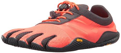 Vibram FiveFingers 17W0701 KSO Evo, Outdoor Fitnessschuhe Damen, Orange (Fire Coral/Grey), 41 EU
