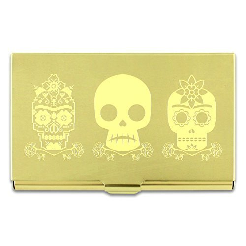 Frida Kahlo Etched Business Card Cases By Acme Studio (THREE SKULLS) by ACME Studio