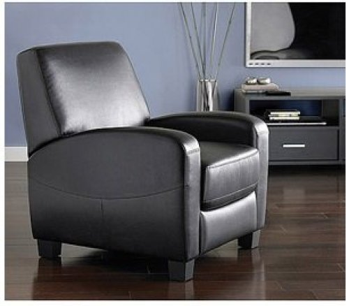 Mainstays Home Theater Recliner Black