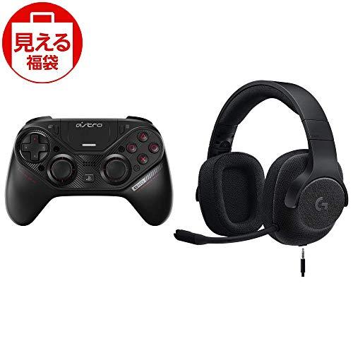 福袋 Astro PS4 コントローラー ワイヤレス C40TR & Logicool G ゲーミングヘッドセット G433BK 有線