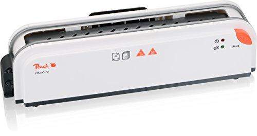 Peach PB200-70 - Rilegatrice Termica, Cartelle Fino A 300 Fogli A4