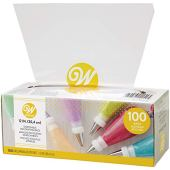 Decorating cake and Wilton's 30.5 cm disposable pastry, 100 units