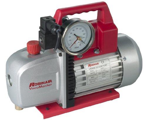 Robinair (15301) VacuMaster Economy Vacuum Pump - 2-Stage, 71 liters/minute