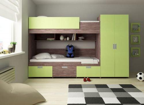 Etagenbett Heidelberg Farbe Lime