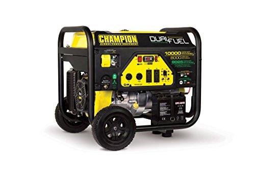 Champion 100297 8000-Watt Dual Fuel Generator
