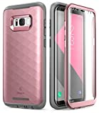 Galaxy S8 Case, Clayco [Hera Series] [Updated Version] Full-body Rugged Case with Built-in Screen Protector for Samsung Galaxy S8 (2017 Release) (RoseGold) (Renewed)