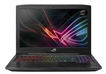 "ASUS ROG Strix Scar Edition GL703GE Gaming Laptop, 17.3"" i7-8750H Processor, GTX 1050 Ti 4GB, 16GB DDR4, 256GB SSD + 1TB HDD, Windows 10 Home, GL703GE-AS74 (Renewed)"