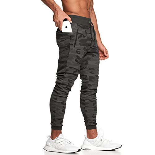 Surenow Mens Gym Jogger Pants Athletic Workout Pants Tapered...