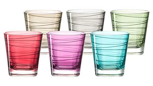 LEONARDO 047286 Bicchiere da Acqua Multicolore 6pezzo(i) Bicchiere