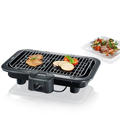Severin PG 2790 Barbecue-Grill 2500W, Standard, Nero