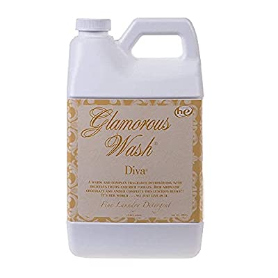 Tyler Candle Co Diva Glamorous Wash Laundry Detergent 64oz, 2 cap fuls per wash, do not use your usual deteregent,