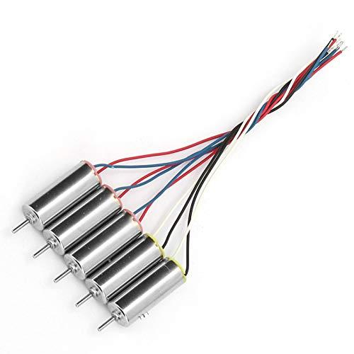 5PCS 6x15MM Coreless Motor 3.7V Droni Parti ad alta velocit 66300RPM Motore aereo giocattolo a basso consumo, certificazione ROHS