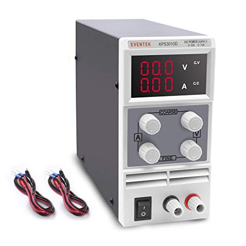 DC Power Supply Variable(0-30 V 0-5 A), Eventek KPS305D...
