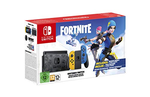 Nintendo Switch Special Edition Fortnite at a historic minimum price on Amazon and Media Markt, less than 300 euros and free shipping!