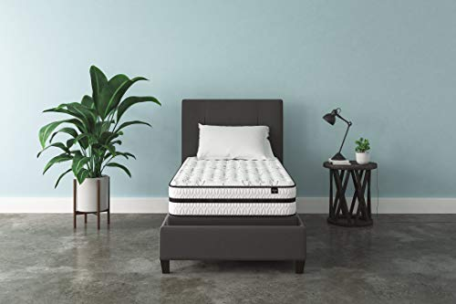 Signature Design by Ashley - 10 Inch Chime Express Hybrid Innerspring - Firm Mattress - Bed in a Box - Twin - White - M69611