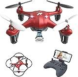 ATOYX AT-96 Drone avec Caméra HD FPV Drone Enfant WiFi Hélicoptère...