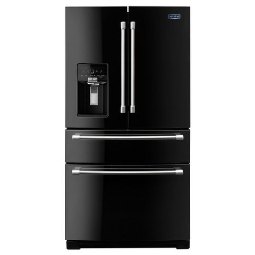Maytag 26.2 cu. ft. French Door Refrigerator in Black