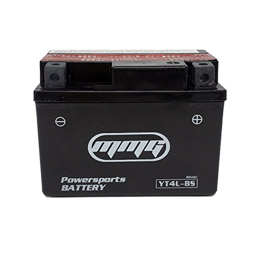 MMG YTX4L-BS, 4L-BS 12v ATV Battery for Aeon Benzai, Arctic Cat, Bombardier (Can-Am), E-Ton, Kasea, Polaris, Qianjiang
