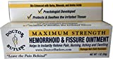 Doctor Butler's Hemorrhoid & Fissure Ointment with Lidocaine and Other FDA Approved Ingredients for Treatment and Relief of Pain, Itching & Swelling + Herbs, Minerals, Amino Acids and Essential Oils