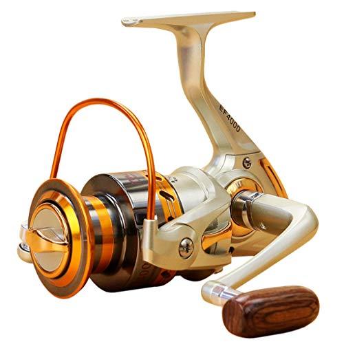 Iusun Fishing Reels EF500-EF9000 12BB Metal Spool Folding Arm Left Right 5.2:1 Spinning Reel...