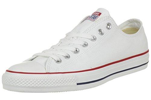 Converse Chuck Taylor All Star Ox, Zapatillas Unisex Adulto, Blanco (Optical White), 37 EU