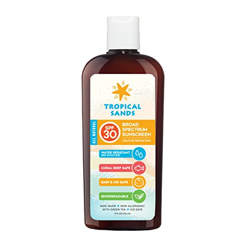 Tropical Sands All Natural SPF 30 Water Resistant Sunscreen