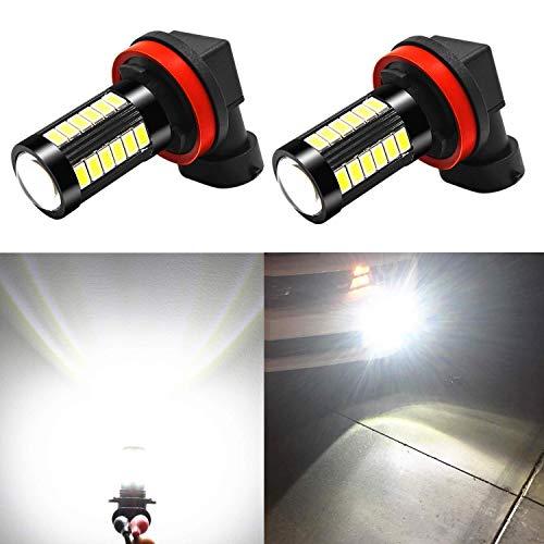 Alla Lighting H11 LED Fog Light Bulbs
