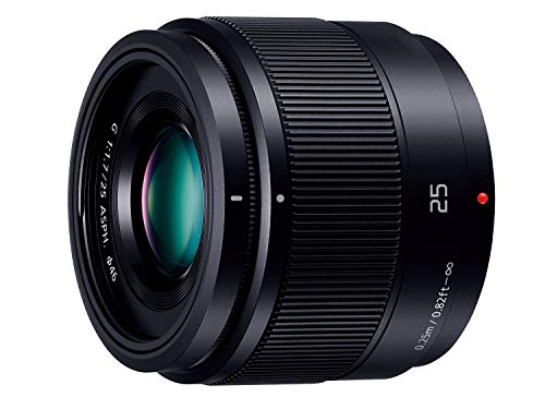 パナソニック 単焦点レンズ マイクロフォーサーズ用 ルミックス G 25mm/ F1.7 ASPH. ブラック H-H025-K