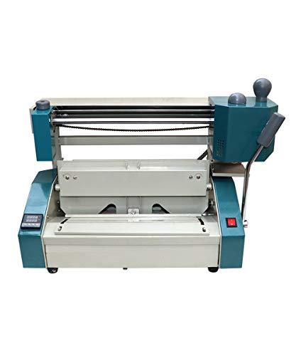 CGOLDENWall, rilegatrice a caldo, 320 x 280 mm, formato A4, cucitrice a riscaldamento automatico,...