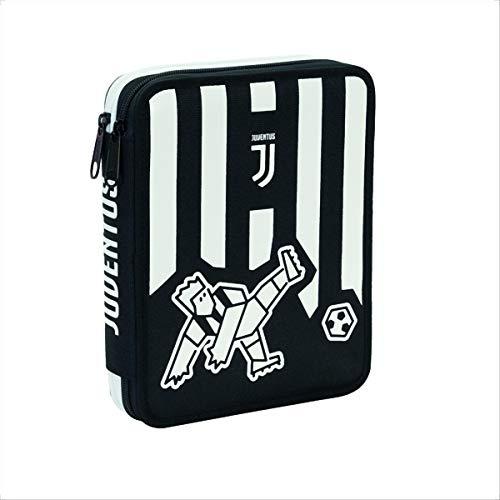 Juventus Maxi Astuccio scuola completo 2 Cerniere PS 07636 Scuola Juve