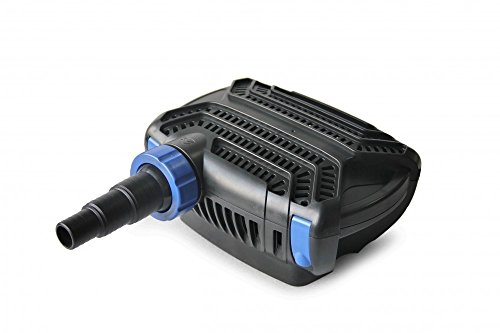AquaOne CTF-B 16000 Teichpumpe 140 Watt Eco Motor 16000 l/h 2in1 System Förderpumpe Pumpe Energiesparpumpe Filterpumpe Wasserpumpe