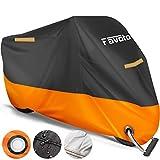 Favoto Housse de Protection Impermeable pour Moto Scooter Couverture...