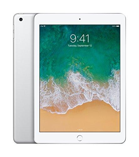 Apple iPad 9.7in with WiFi, 32GB-Silver (2017 Newest Model) (Renewed)
