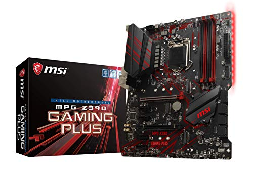 MSI MPG Z390 GAMING PLUS ATX ゲーミングマザーボード [Intel Z390チップセット搭載] MB4616