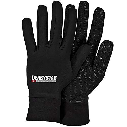 Derbystar Kinder Hyper Spielerhandschuh Handschuh, schwarz, 5