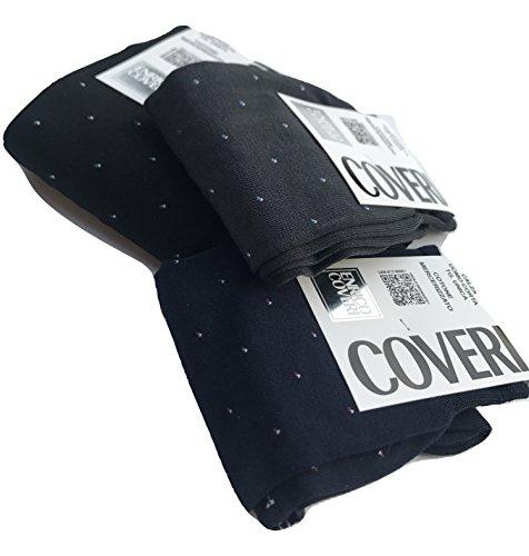 Enrico Coveri 3/6 paia calze corte Cotone Mercerizzato disegno petite pois (3 paia ass.)