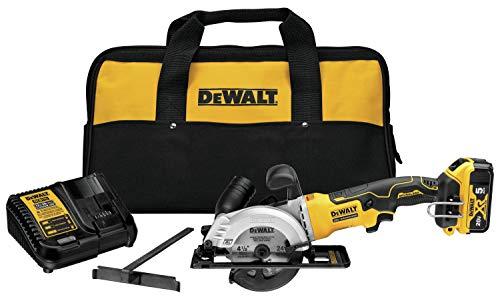 DEWALT ATOMIC 20V MAX Circular Saw Kit, 4-1/2-Inch (DCS571P1)