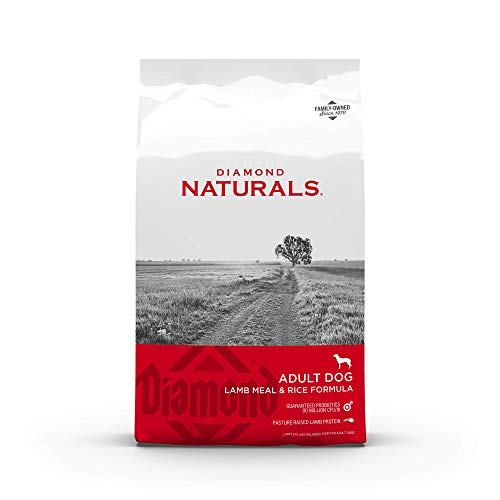 Diamond Naturals Adult Dry Dog Food Lamb Meal and...