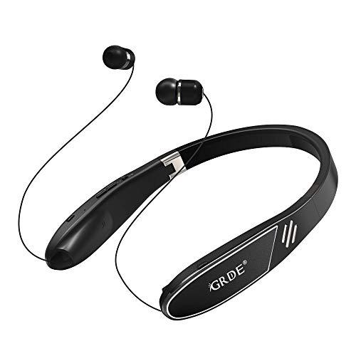 【進化版】ネックスピーカー Bluetoothイヤホン ワイヤレスイヤホン 1台2役 Bluetooth4.2 ステレオ高音質 C...