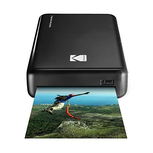 KodakStampante fotografica Mini 2HD, istantanea, senza fili e mobile con tecnologia di stampa...