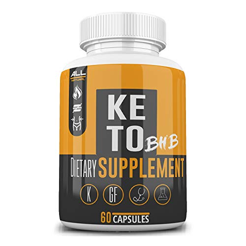 Keto BHB Pills As Seen On Tv Fat Burner: Weight Loss for Men and Women -BHB Salts Supplement. Ketones for Ketogenic Diet Best to Burn Fat to Support Energy, Enhance Mental Focus & Clarity - 30 Day 3