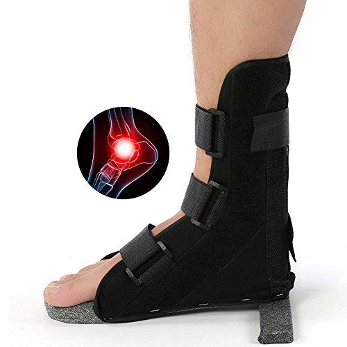 Knöchel-Bein-Bügel-Stützfuß-Orthesen-Korrektor-Plantar-Schienen-Befestigungs-Schutz-Knöchel für die Entlastung von Schmerz und von Wiederherstellungsverstauchung (L)