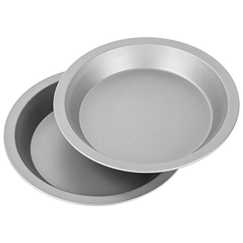 G & S Metal Products Company HG250 OvenStuff Nonstick 9 Pie Pans, Set of 2, Gray