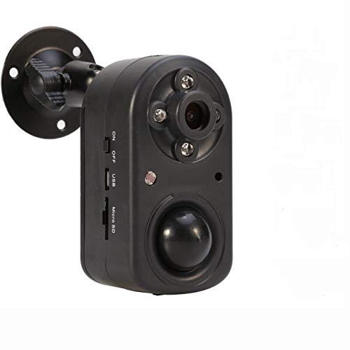 Telecamera di Sicurezza,Sistema Telecamera Sicurezza Casalingo Rilevamento Movimento PIR 1080P, Telecamera a Batteria Visione Notturna Standalone DVR Lungo Tempo in Standby