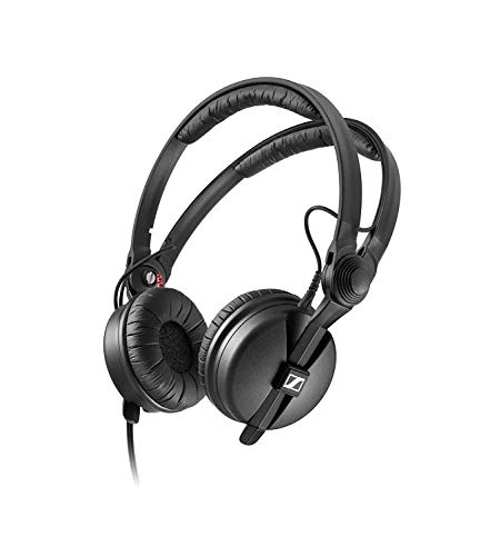 Sennheiser HD 25 Black Supraaural headphone - headphones (Supraaural, 16 - 220000 Hz, 120 dB, 70 , Wired, 1.5 m)