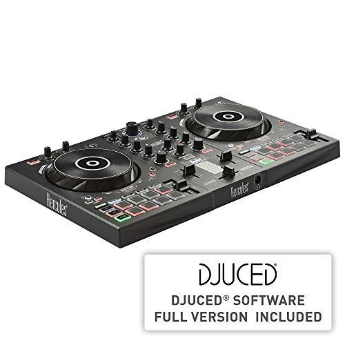 Herculesdjcontrol inpulse 300Controller DJ USB2tracce con 16pad e scheda audiosoftware e tutorial incluso