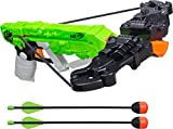 Nerf Zombie Strike Wrathbolt - Defend Against the Zombified Attackers with Your Sniper Crossbow - Load, Aim, and Fire the 2 Included Darts - Arrows Whistle When Fired - Ages 8 and Up, Play Safe