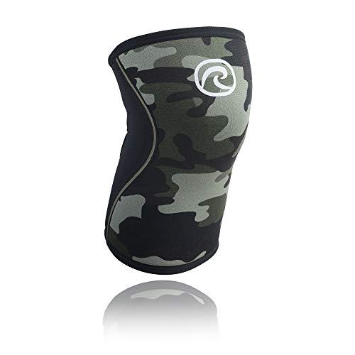 Rehband RX Knee Sleeve 5 mm Rodillera, Camoflage, S