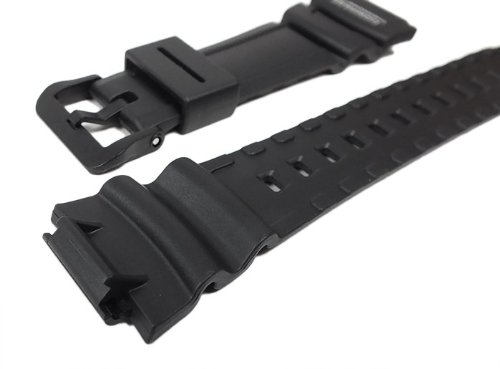 Genuine Replacement Casio Watch Band Black Rubber Strap #10431875 SGW-500 SGW-500H-1B